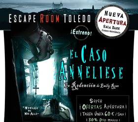 Escape Room Toledo Caso Annelise Exorcismo